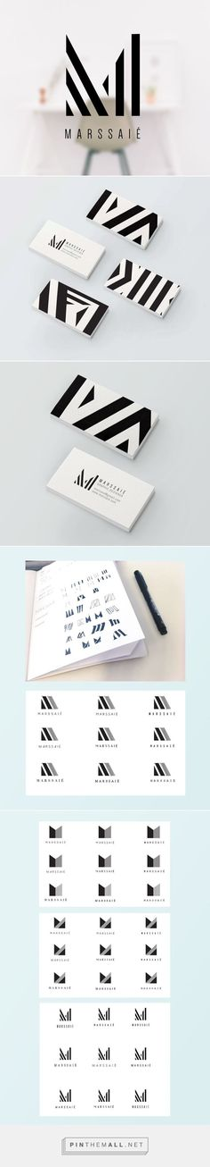 Marssaié - personal identity  Graphic designer visual identity   http://www.marssaie.com  created via https://pinthemall.net