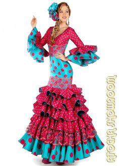 vestidos flamenca - Buscar con Google