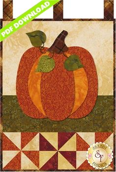 """Little Blessings - Pumpkin Patch - PDF DOWNLOAD: THIS PRODUCT IS A PDF DOWNLOAD that must be downloaded and printed by the customer. A paper copy of the pattern will not be sent to you. This pattern is for the Pumpkin Patch design. Wallhanging measures 12"""" x 18""""."""