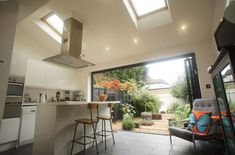 Rear House Extension End of Terrace House - Permitted Development Rear Extension House Extension Design, Extension Designs, Extension Ideas, Bungalow Extensions, House Extensions, Kitchen Extensions, Dream Home Design, House Design, Rear Extension