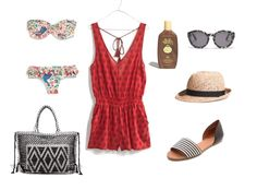 Memorial Day Weekend Outfit // Madewell // Romper