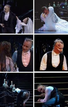 Christine, I love you. The length he held this note compared to how long Raoul held it....tells you all you need to know right there.  Sure, Erik was a psychopath but he truly believed he loved her more than anything in the world.