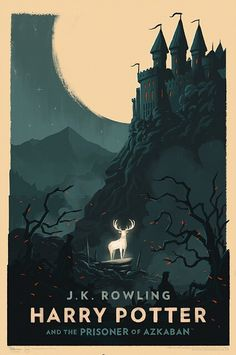 Harry Potter and the Prisioner of Azkaban. Art by Olly Moss