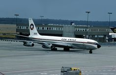 Boeing CC-CCG was new to Lufthansa as their D-ABOS in February and is pictured on familiar territory at Frankfurt Airport on July Boeing 707, Boeing Aircraft, Frankfurt, Lan Chile, Lan Airlines, Aircraft Pictures, Military Aircraft, Airplanes, South America