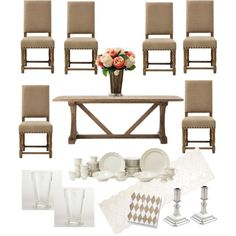 Timeless dining room on a budget
