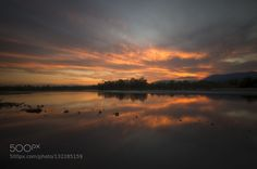 Fire over the river by noneralui. Please Like http://fb.me/go4photos and Follow @go4fotos Thank You. :-)