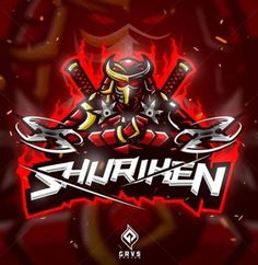 Shuriken, Logo Inspiration, Gaming Logo, Sport Logos, Ninja Logo, Samurai, Graffiti, Team Logo Design, Photo Logo