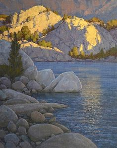What a Little Sunlight Will Do by Jean LeGassick Oil ~ 30 x 24