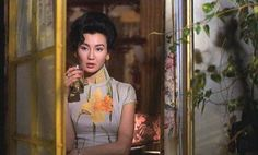 Maggie Cheung in 'In the Mood for Love' by Wong Kar Wai... one of my favorite movies. Beautiful selection of cheongsams. A grand inspiration on my first cheongsam collection.