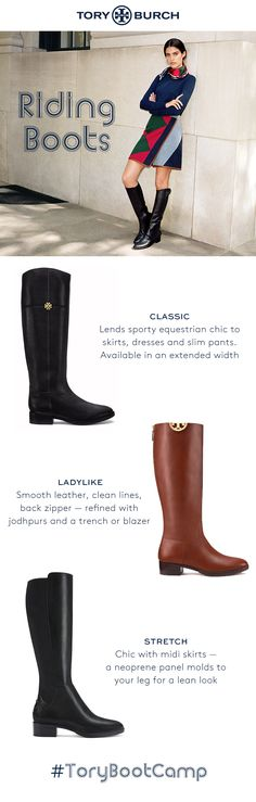 Universally flattering and the epitome of casual chic — in classic, ladylike, leather, suede or stretch styles. Plus, a riding boot that converts to an ankle boot. Shop them all.