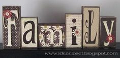 wood block craft
