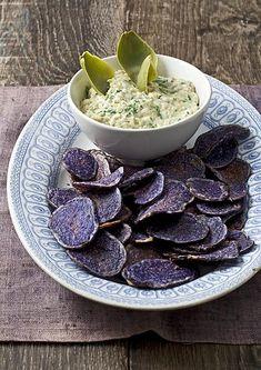 ♡ Artisjok dip met Chips
