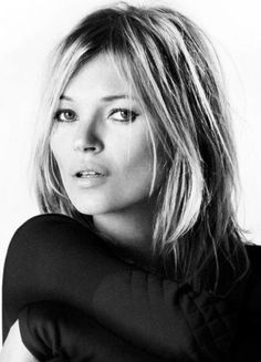 You can't go past the stunning Kate Moss