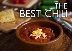 Here you will find my award-winning recipe for beef, pork, and bean chili. Yes, I know, people claim all the time to have the best, but this one really is.