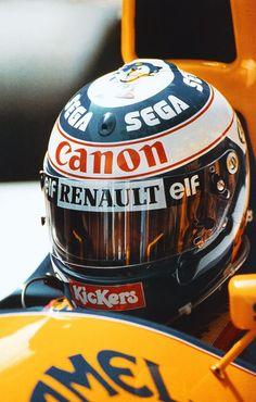 Goose the Throttle Alain Prost, Racing Helmets, Football Helmets, F1 Wallpaper Hd, Wallpapers, Gp F1, Helmet Design, F1 Drivers, Karting