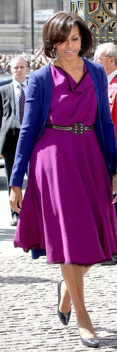 Michelle Obama - colour toning