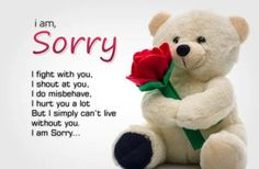 Funny Sorry Quotes Sorry Quotes for Her, Sorry Quotes for Girlfriend Sorry Quotes Images, I Am Sorry Quotes For Hurting You Saying Sorry Quotes Quote of The Day Cute Love Quotes, Love Quotes For Her, Love Yourself Quotes, Sorry I Hurt You, Sorry My Love, Bff Quotes, Sister Quotes, Qoutes, Husband Quotes