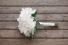 DIY Peony bouquet (Bouquets with only 1 type of flower)