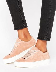 92eb5e0ed91 Discover Fashion Online New Trainers, Suede Trainers, Sequin Shoes, Pink  Sequin, Lace