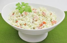 tomato and cauliflower salad. i can't wait to try this with shrimp!