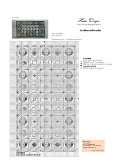 Pattern for a cross stitched rug