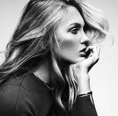 Картинка с тегом «model, girl, and black and white»
