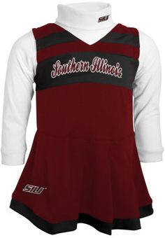 NCAA Toddler Southern Illinois Salukis Football Jersey and Pant Set