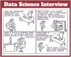Cartoon Data Science Interview