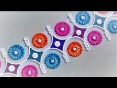 Simple and Quick Border Rangoli Design Using Bangles. - YouTube