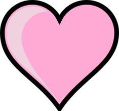 heart stencil plain heart clip art vector clip art online rh pinterest com heart outline clipart free heart outline clipart png