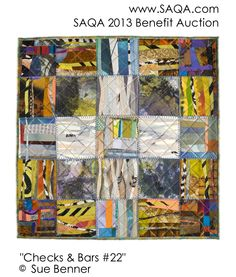 Art quilt by Sue Benner