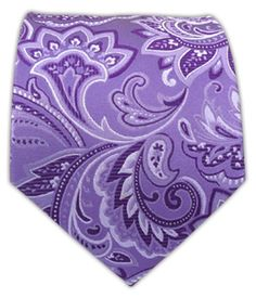 Organic Paisley - Lavender