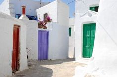 chiquiten:  Amorgos, Greece  favela of dreams,  road