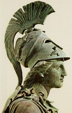 """Athena in Bronze~ Ancient Alien Theory: Many believe the gods of mythology were an advanced civilization with flight technology and weaponry primitive humans could only describe as magical powers.  Most speculate that there is no such thing as supernatural events or paranormal phenomena, only large gaps of unknowns within our understanding of what """"natural"""" truly is."""