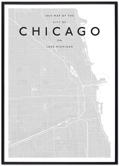majestymaps-chicago-black-framed