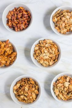 Roasted Pumpkin Seeds /// Six Ways - Wholefully