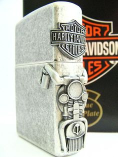 Harley Davidson side mount Zippo Lighter
