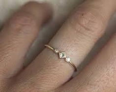 Image result for simple gold engagement rings