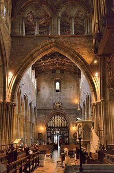 St Mary's Church in Shrewsbury,Shropshire, England