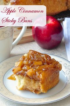 These Apple Cinnamon Sticky Buns are bound to become a family favourite, if not a tradition at your house. A terrific addition to special occasion brunches.