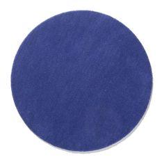 RINGUM Rug, low pile - bright blue - IKEA