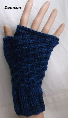 Ravelry: Three patterns for mittens pattern by Brian smith Knitting Patterns Free, Free Pattern, Fingerless Mitts, Mittens Pattern, Knitted Gloves, Hand Warmers, Ravelry, Knit Crochet, Handmade