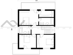 Model casa 203 Design Case, Floor Plans, How To Plan, Model, House, Houses, Home, Scale Model