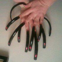Long Acrylic Nails, Long Nails, Curved Nails, Sexy Nails, Perfect Nails