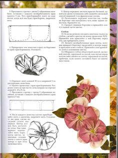 Wonderful Ribbon Embroidery Flowers by Hand Ideas. Enchanting Ribbon Embroidery Flowers by Hand Ideas. Ribbon Embroidery Tutorial, Fabric Flower Tutorial, Silk Ribbon Embroidery, Embroidery Designs, Embroidery Kits, Embroidery Stitches, Ribbon Art, Diy Ribbon, Ribbon Crafts