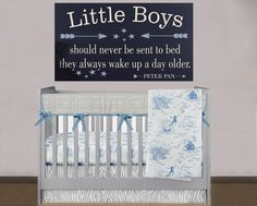Ideas For Baby Boy Nursery Signs Peter Pan