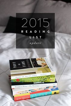 31 BOOKS TO ADD TO YOUR READING LIST!