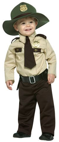 Future State Trooper Toddler Costume - Toddler Costumes