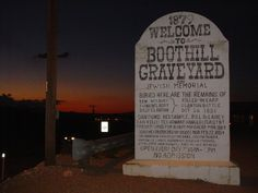 old cemetery    Many famous Tombstone folks lie there including the victims of the ...