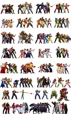 The King of Fighters 2011: Infinite Match by True-BackLash.deviantart.com